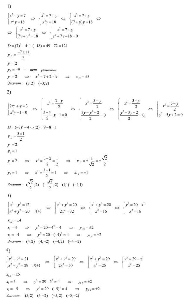 ГДЗ по алгебре 8 класс Колягин Ю.М. упражнение — 515